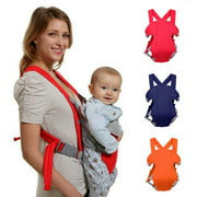Costyle Soft Infant Newborn Baby Carrier Backpack Rider Sling ,Red Color