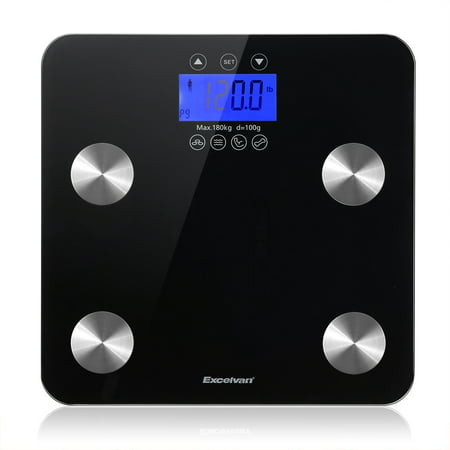 Excelvan Touch 400 lb Digital Body Fat Scale ()