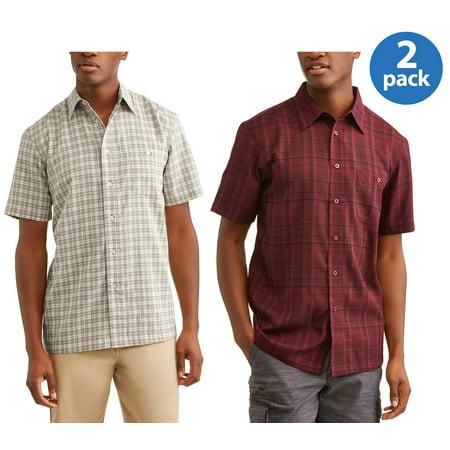 George Mens Short Sleeve Microfiber Shirt Bundle