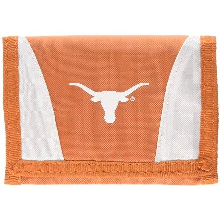 Texas Longhorns Tri-Fold Nylon Chamber Wallet (Texas Tri Fold Wallet)