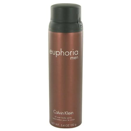 d1da4383c3f85 Calvin Klein Beauty - Calvin Klein Beauty Euphoria Body Spray for Men 5.4  oz - Walmart.com