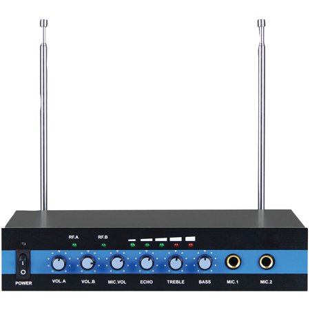 Blackmore Pro Audio BMP-60 Dual Channel Wireless Microphone System