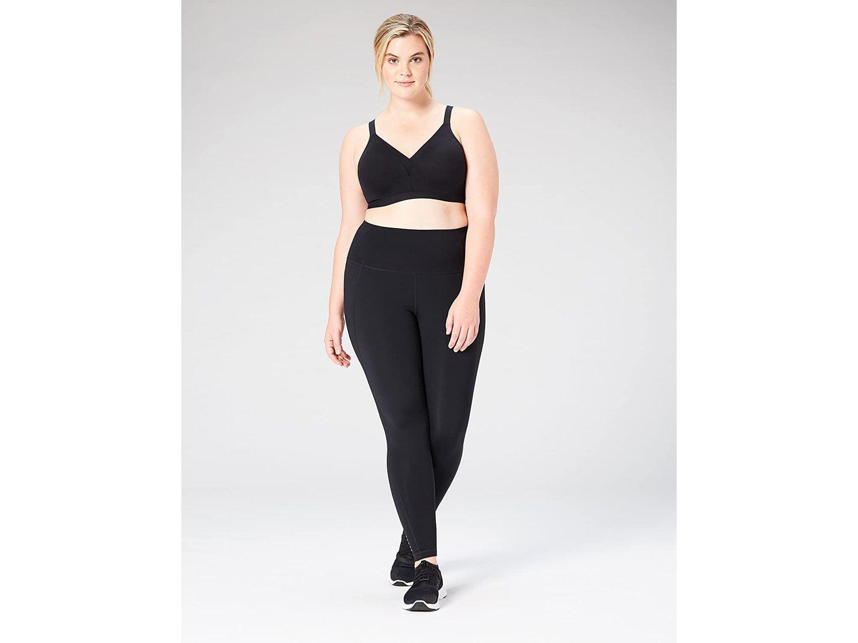 Core 10 Womens Full Figure All Day Comfort Adjustable Sports Bra