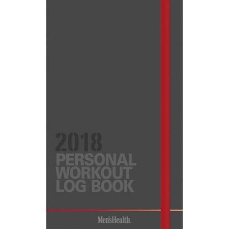 (2018 Mens Health Workout Log Planner,  Health | Fitness by ACCO Brands)