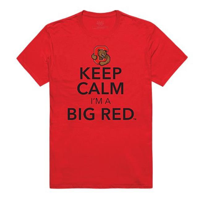 W Republic Apparel 523-168-R58-05 Cornell University Keep Calm T-Shirt for Men - Red, 2X - image 1 de 1