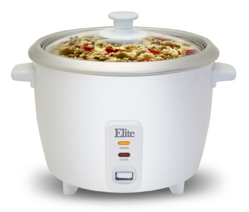 Maxi-Matic ERC-008ST Elite Gourmet 8-Cup Rice Cooker with...