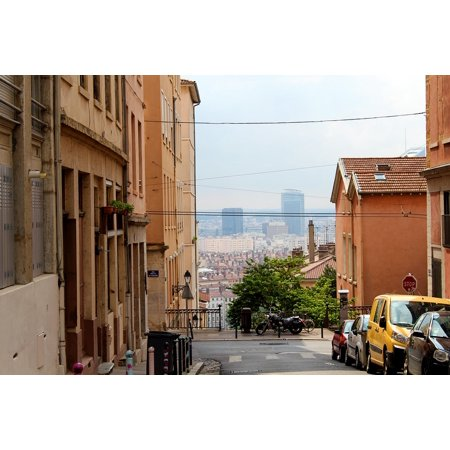 LAMINATED POSTER Architecture City France Old Town Lyon Poster Print 24 x 36 - Halloween Lyon France