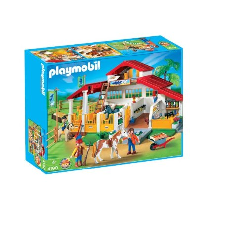 Playmobil Pony Ranch Horse Farm