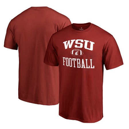 Washington State Cougars Key (Washington State Cougars Fanatics Branded Neutral Zone Team Logo T-Shirt - Crimson )