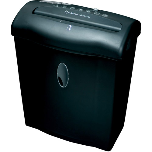 Shredder Essentials 6-Sheet Diamond-Cross Cut Shredder