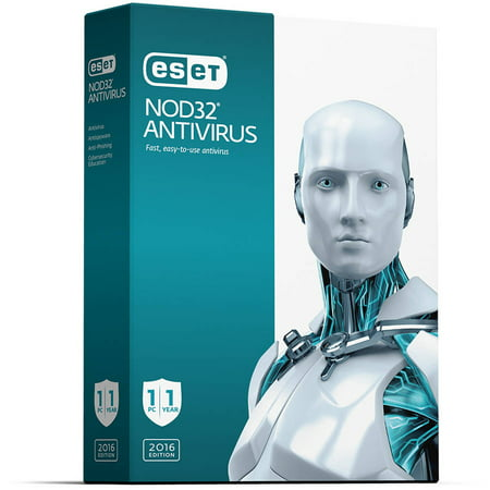 ESET 8130991 NOD32 Antivirus 2016 (1-User) (1-Year Subscription) Windows