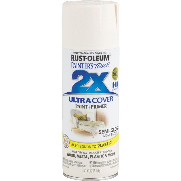 Rust-Oleum Painter's Touch Ultra Cover Aerosol Spray Paint, 12 oz