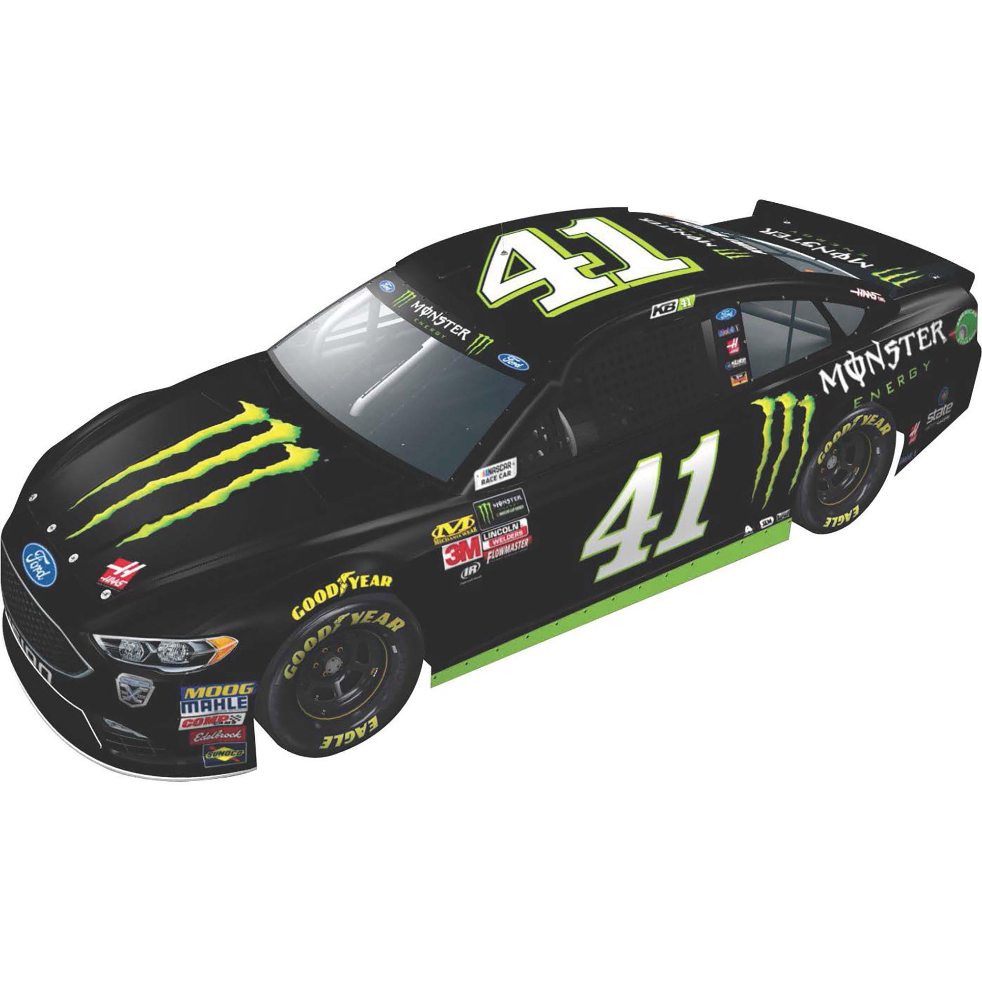 Lionel Racing Kurt Busch #41 Monster Energy 2018 Ford Fusion 1:24 Scale HO Die-cast