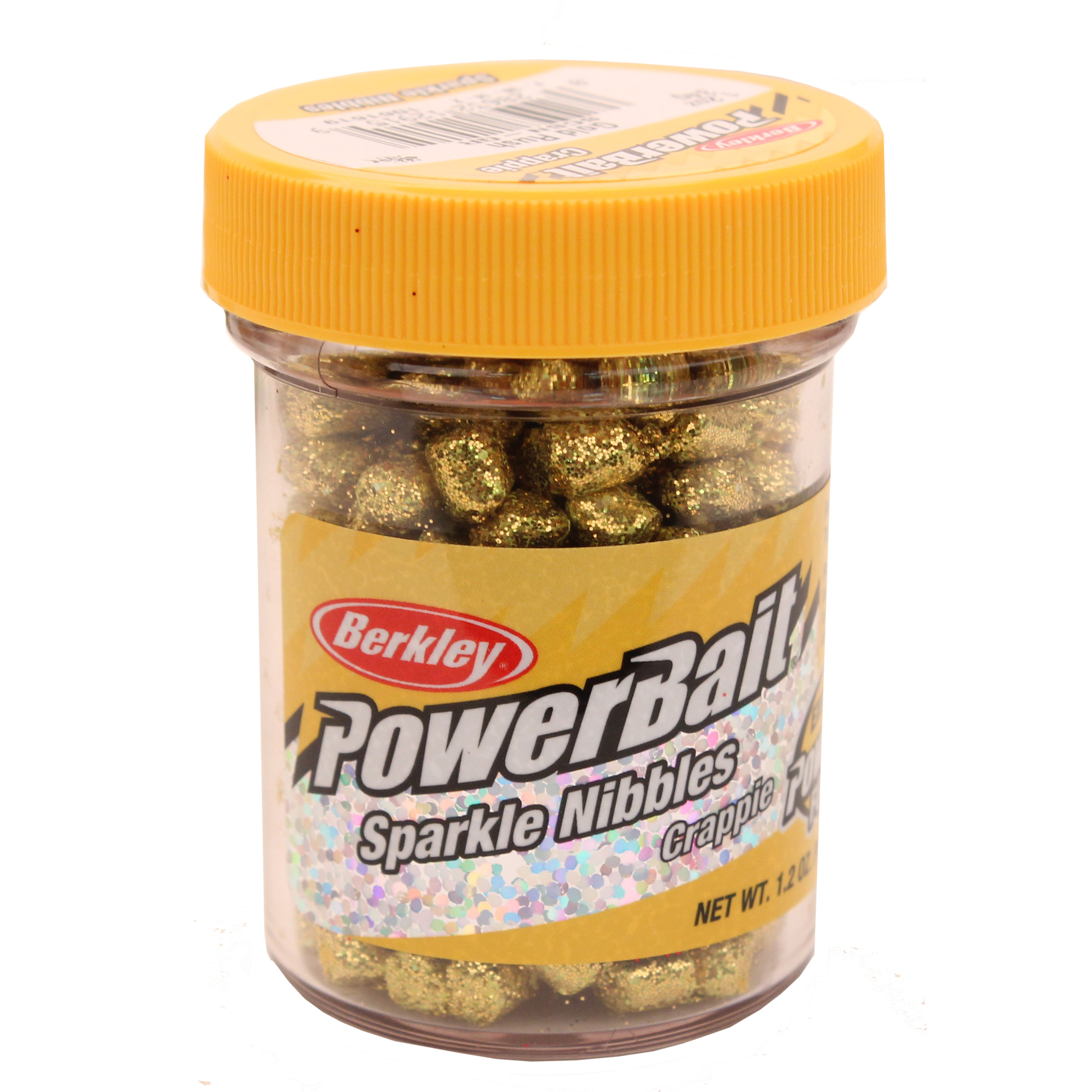Berkley PowerBait Sparkle Crappie Nibbles Fishing Dough