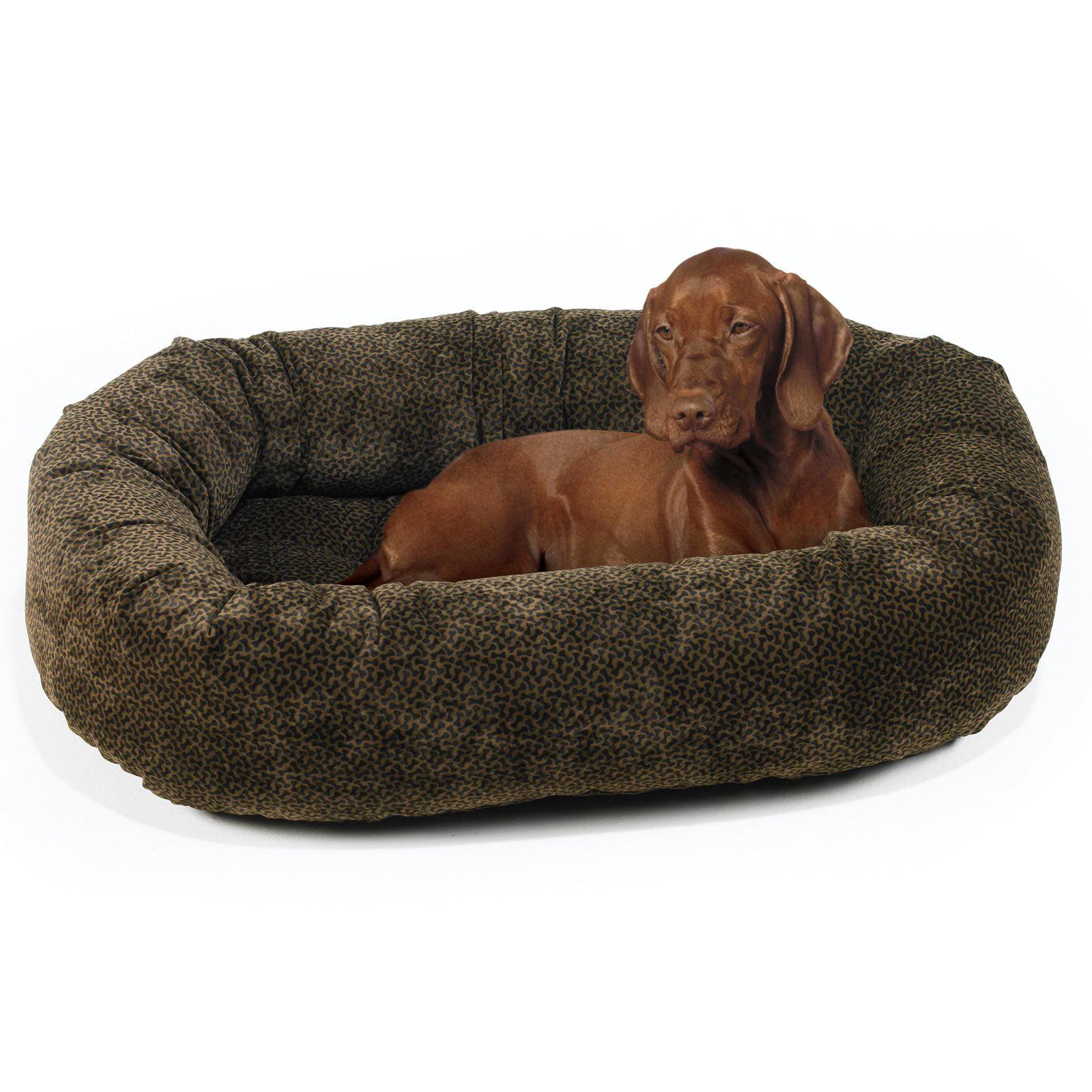 Bowsers Diamond Series Microvelvet Donut Dog Bed