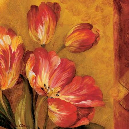 Pamela Gladding Pandoras Bouquet - Pandoras Bouquet III Stretched Canvas - Pamela Gladding (24 x 24)