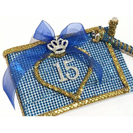 Mis Quince Anos Guest Book Quinceanera Libro De Firmas Royal Princess Theme Sweet 15 Gift (Princess Themed Quinceanera)