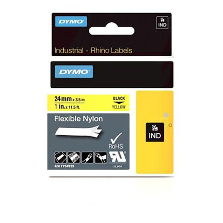 Dymo Dymo Rhino Yellow 1in Nylon 1734525 by