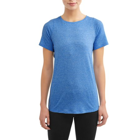 Striped Activewear Performance - Active Run Tee