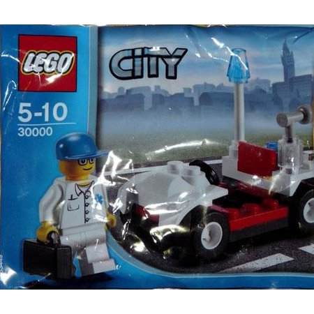 City Doctor with Car Mini Set LEGO 30000 [Bagged] (Lego Doctor Who Halloween Special)