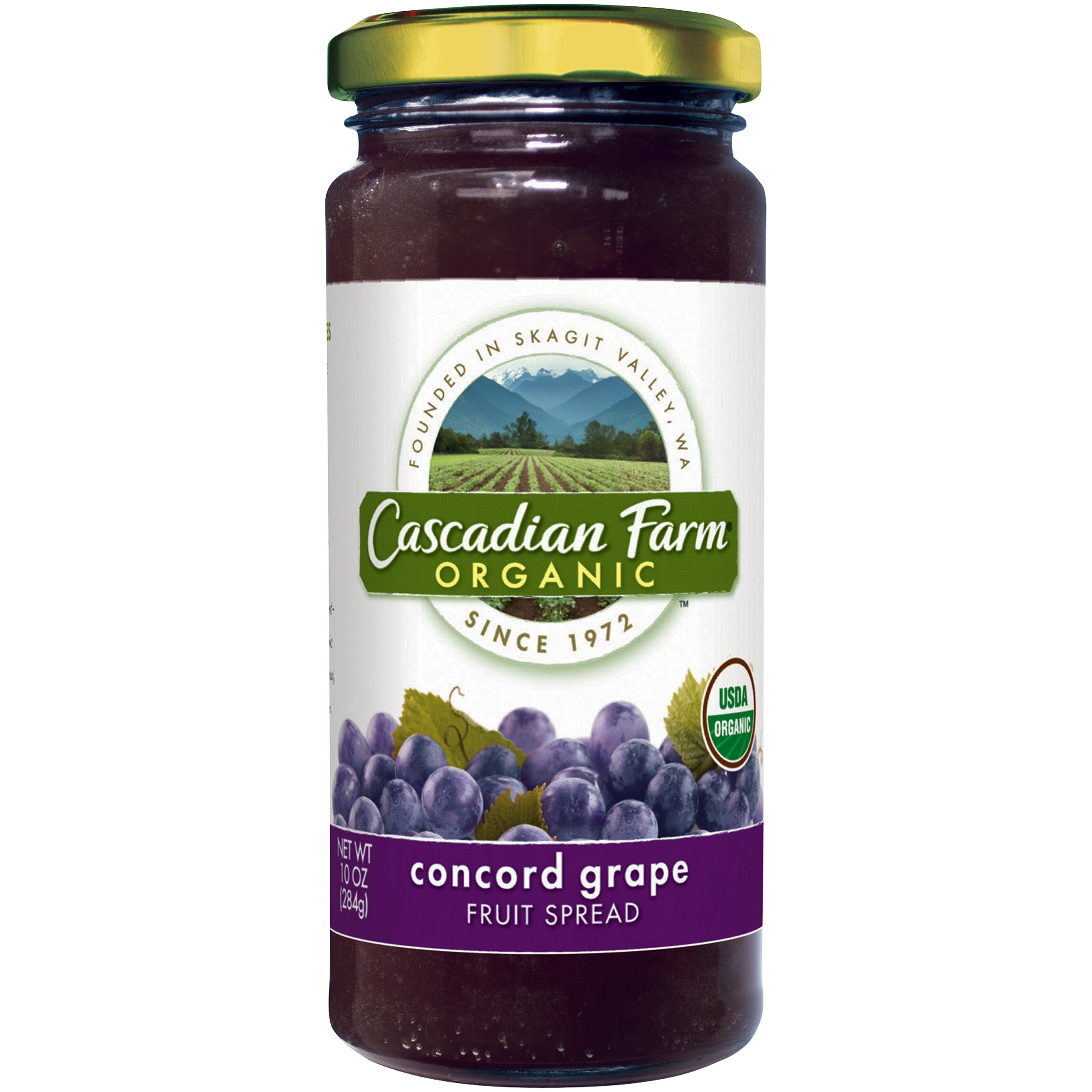 Cascadian Farm Organic Concord Grape Fruit Spread, 10.0 OZ