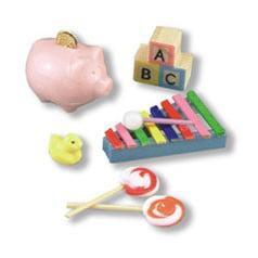Nursery Porcelain (Dollhouse Baby Nursery Accessories )