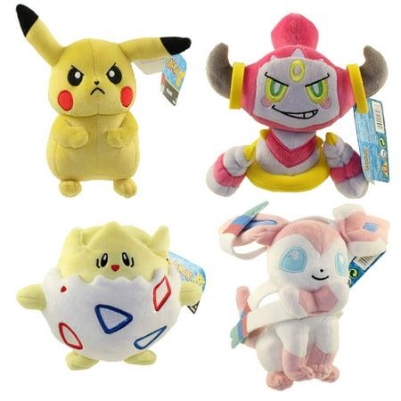 Pokemon Tomy Plush - SET OF 4 (Pikachu fef2f3f42