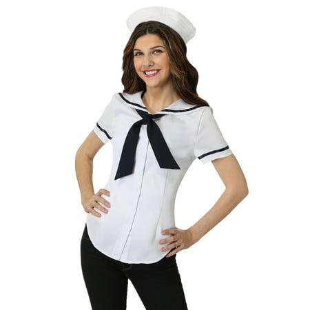 Womens Sweet Sailor Costume Set (Womans Sailor Costume)