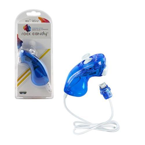 PDP Nintendo Wii Rock Candy Nunchuck Controller, Blue