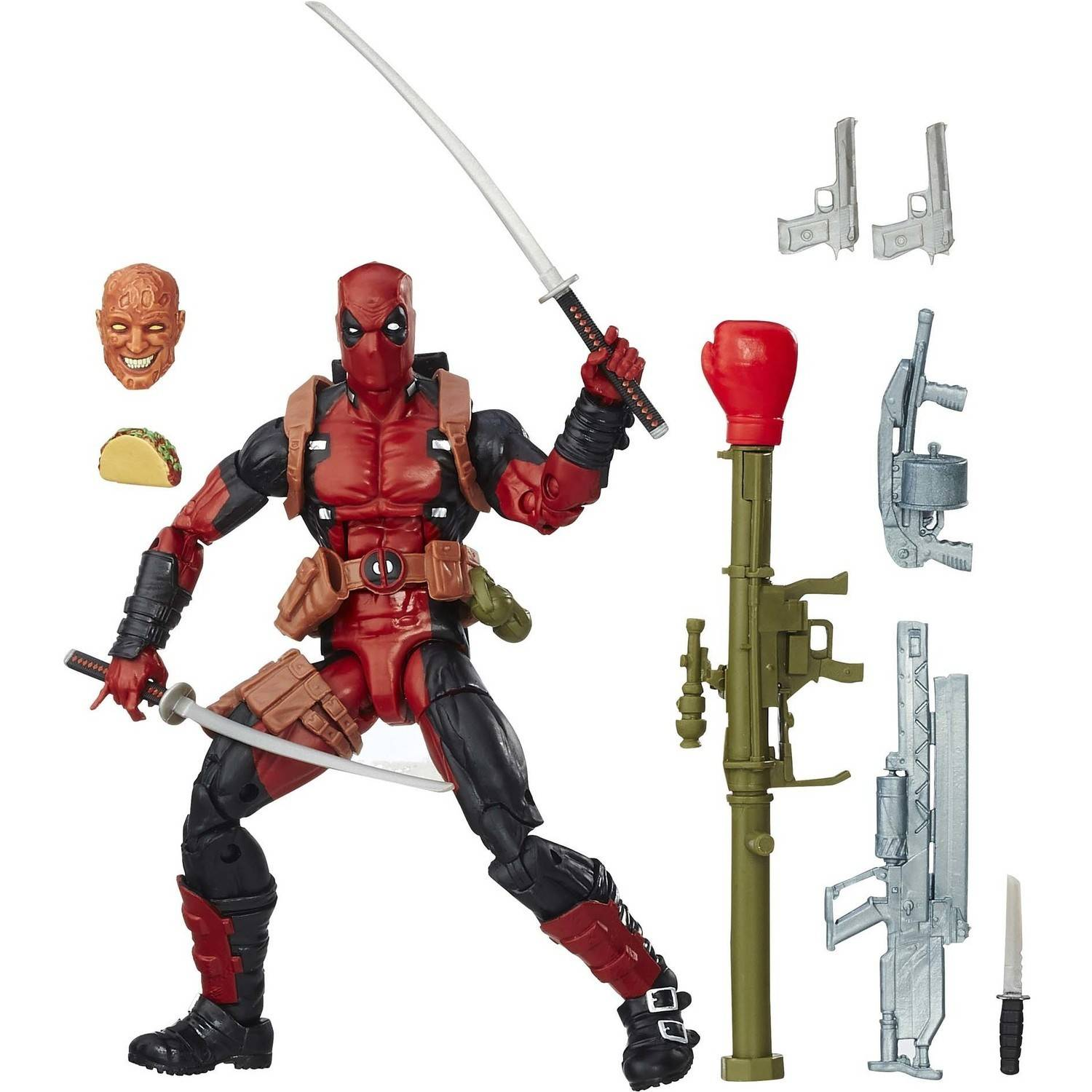 "Marvel 6"" Legends Series Deadpool"