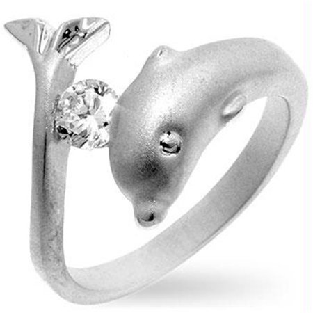 Tension Set Dolphin Ring, Size : - Star Tension Set Ring