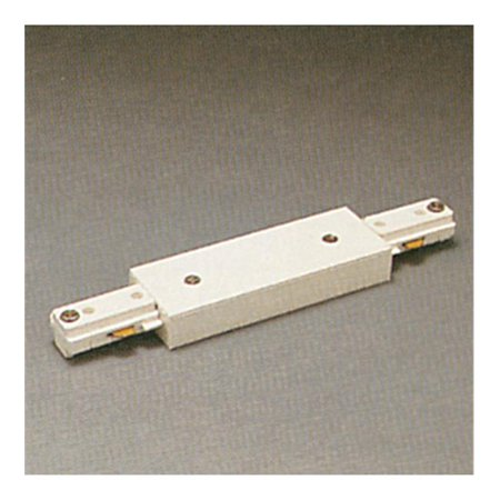(Track Accessories 120V Track 2 Circuit Straight Joiner Ceiling Light, White)