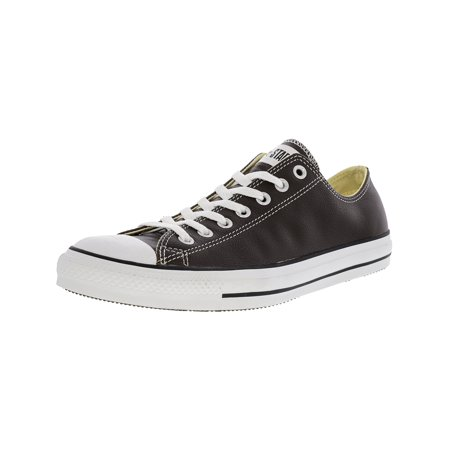 071365255b5efe Converse Chuck Taylor All Star Ox Leather Chocolate Ankle-High Fashion  Sneaker - 8.5M ...