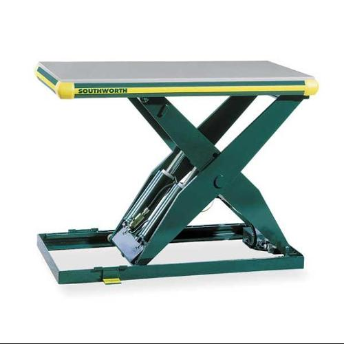 SOUTHWORTH LS4-36-4848 Scissor Lift Table,4000 lb.,115V,1 Phase G1802547 by Southworth
