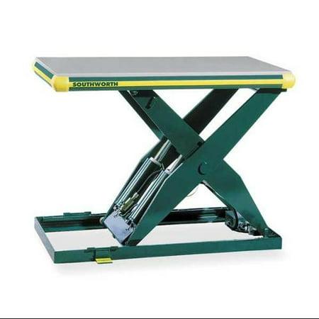 Scissor Lift Table, 4000 lb  Cap, 115V, 48