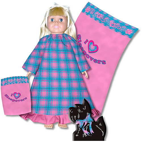 Creative Cuts Fabric Doll Dress Kit, Pink Plaid