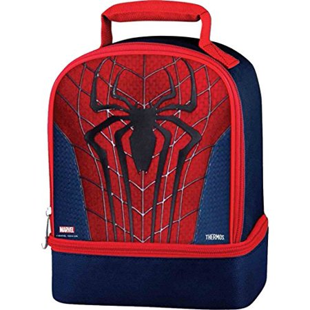 Ultimate Spiderman Thermos Dual Compartment Lunch Kit](Spiderman Lunch Box)