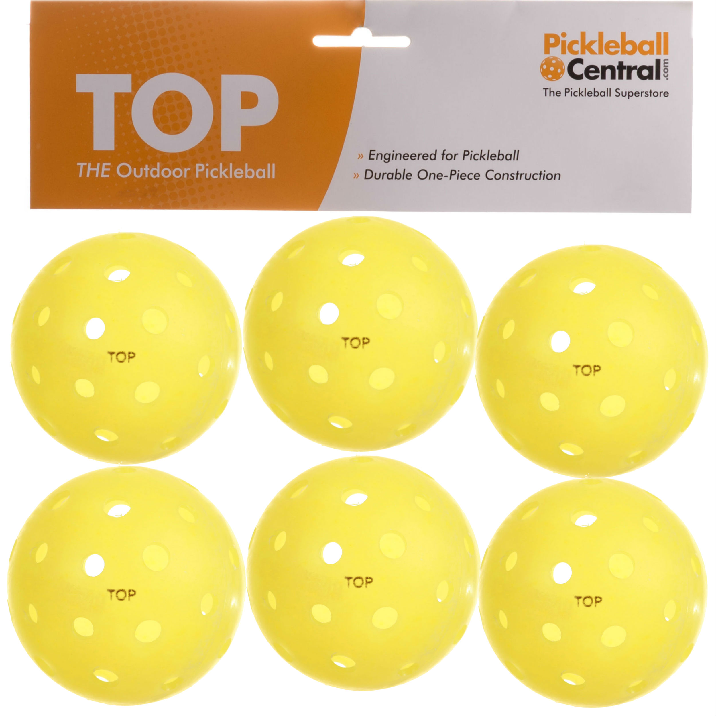 TOP Yellow 6 Pack