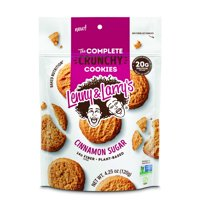 (Price/CASE)Lenny & Larry's Complete Cookie 88300 Cinnamon Sugar Crunchy Cookie 4.25 ounce 12-4.25 ounce