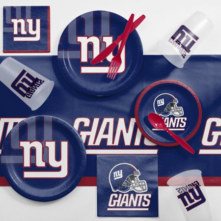 New York Giants Game Day Party Supplies (Giants Kit)