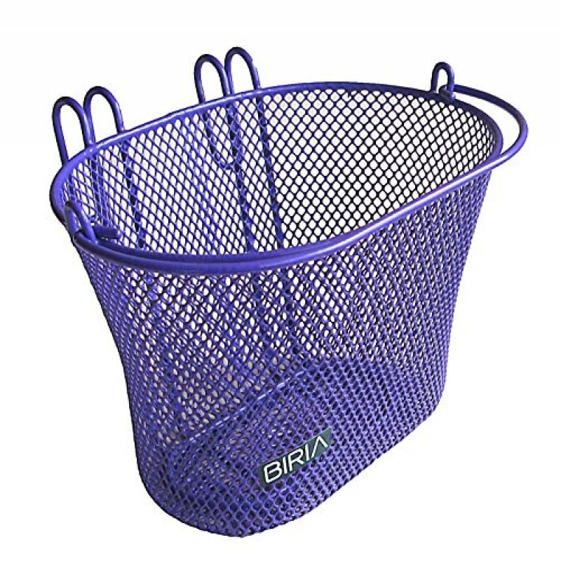 Basket with hooks PURPLE, Front, Removable, Children wire...