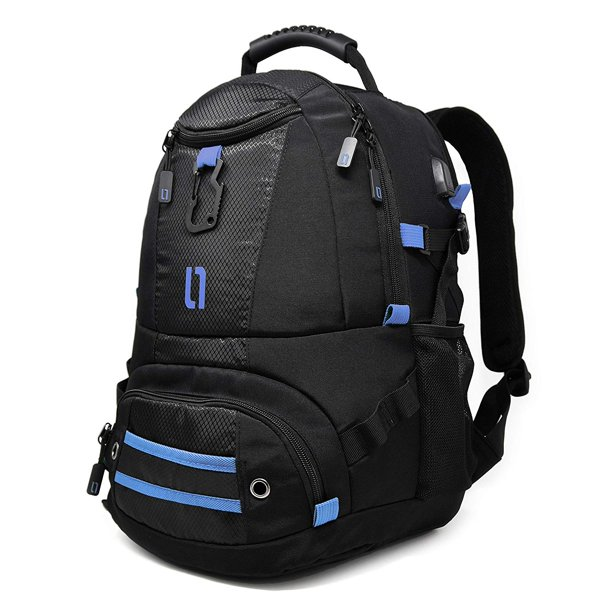 Travel Laptop Backpack, ULAK Durable Bag with USB Charging