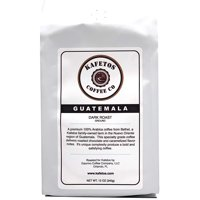 Guatemala Dark Roast Ground Coffee Specialty Grade | Single Origin Portable Pour over Drip Tea | For build stronger, more sustainable | 12 oz.