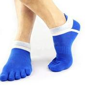 Women Men Soft Cotton Five Finger Toe Socks Low Ankle Low Cut