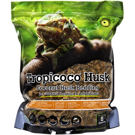 Galapagos  05014  Tropicoco Husk  Natural  8Qt Stand Up Pouch