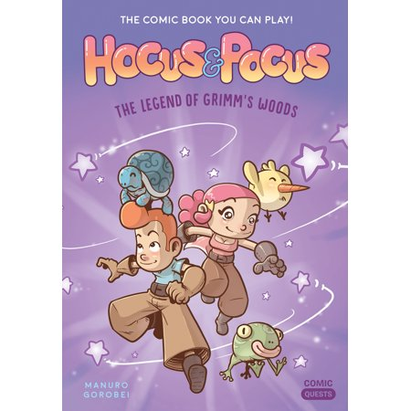 Hocus & Pocus: The Legend of Grimm's Woods: The Comic Book You Can Play - Hocus Pocus Witches