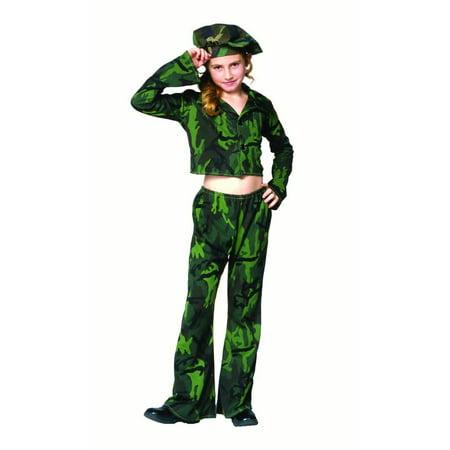 soldier girl costume - Soldier Girl Halloween Costume