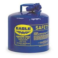 EAGLE UI50SB 5 gal. Blue Galvanized steel Type I Safety Can for Kerosene
