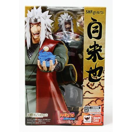 New US SH Figuarts Jiraiya Naruto Shippuden Bandai Action Figure Tamashii