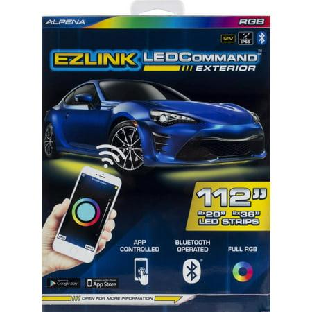 Alpena Ezlink Led Exterior Bluetooth App Controlled Full Rgb Led Light Strip Kit 112